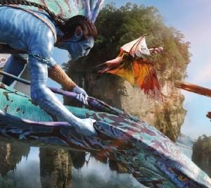 Na'vi and Mountain Banshee
