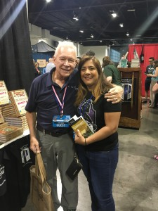 Terry Brooks and Amalie Howard