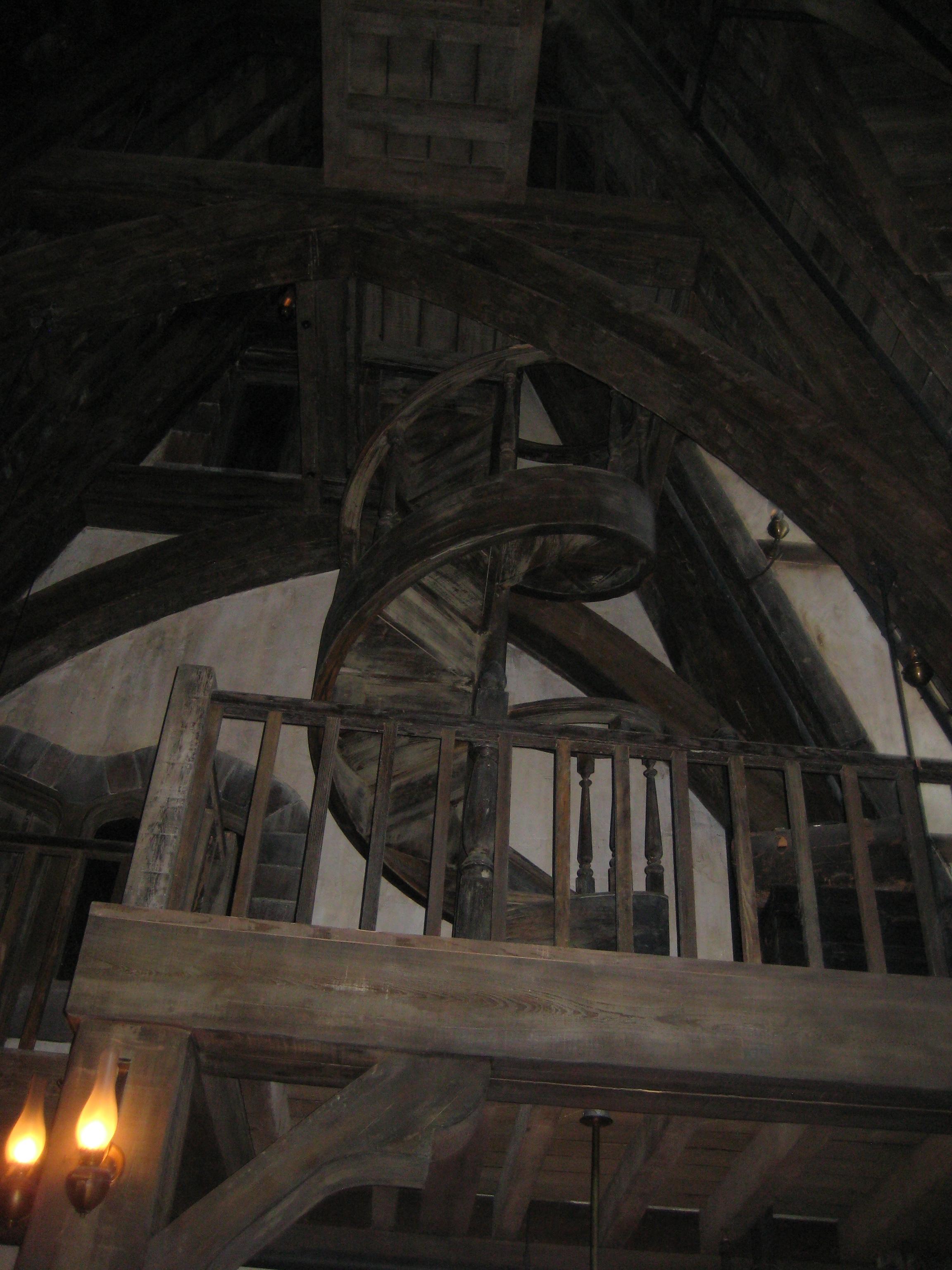 Inside the Three Broomsticks
