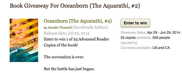 Book Giveaway Oceanborn