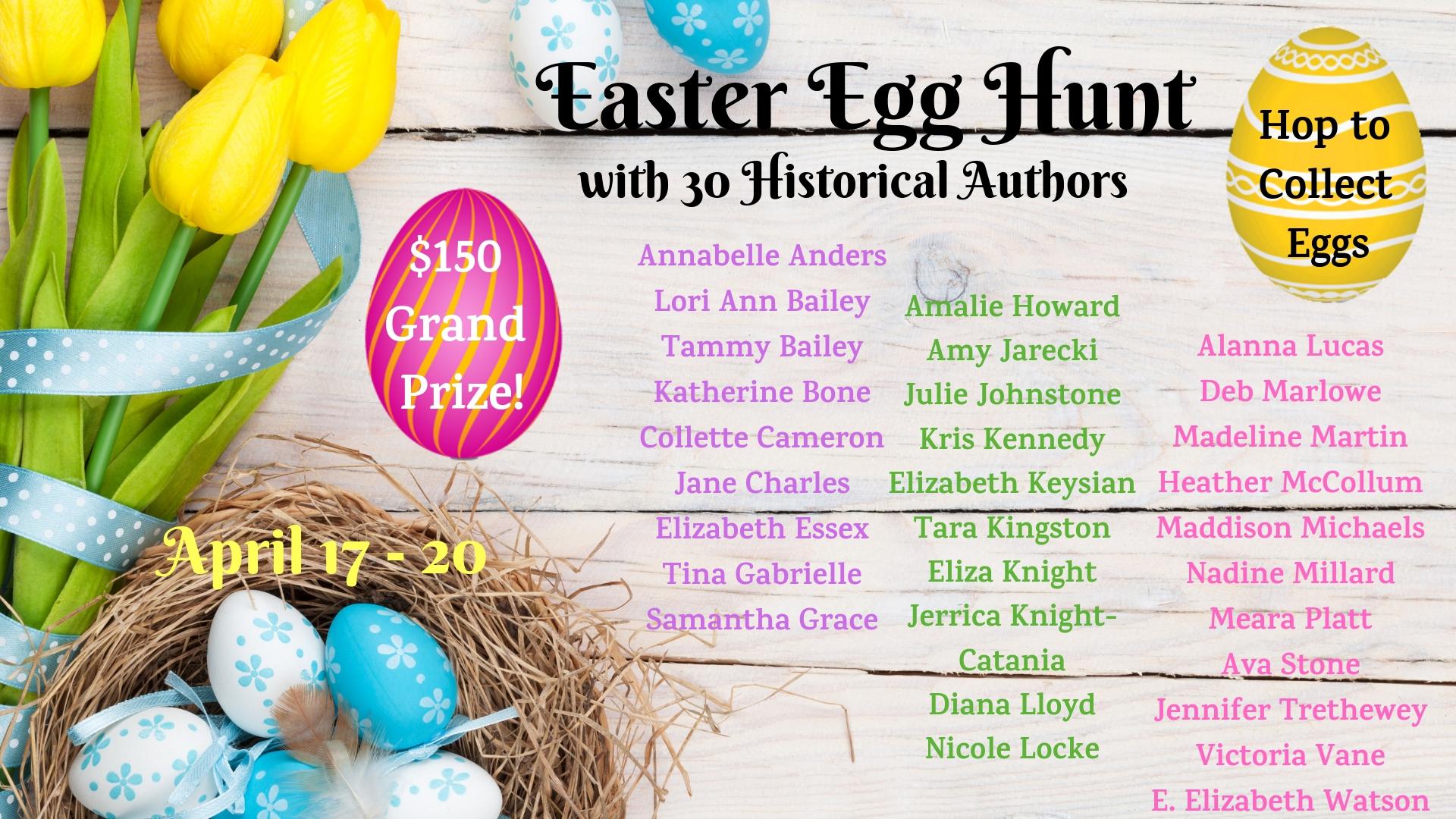 Historical Author Easter Egg Hunt